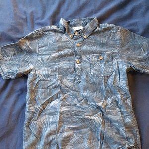 H&M blue pullover shirt